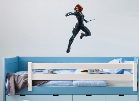 Black Widow (Full Colour Wall Sticker)