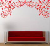 Large Floral Wall Decal