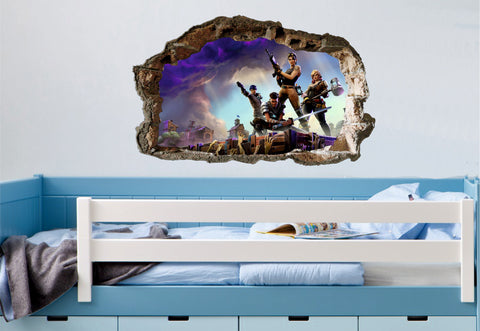 FORTNITE WALL ART STICKER