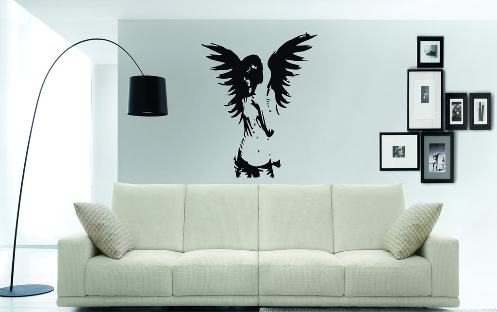 Large sexy fairy wall art sticker