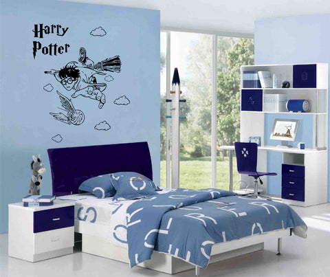 Harry Potter Flying (105 x 76.5 cms)