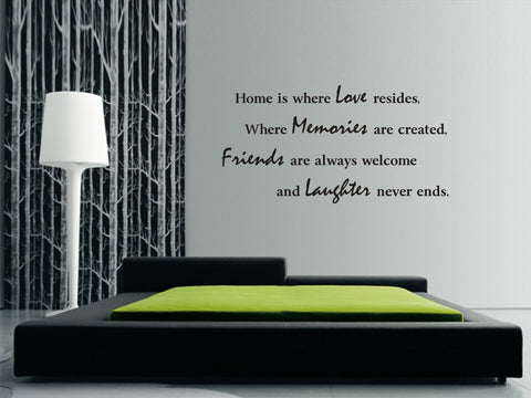 Home is where love resides...(100cm x 50cm)