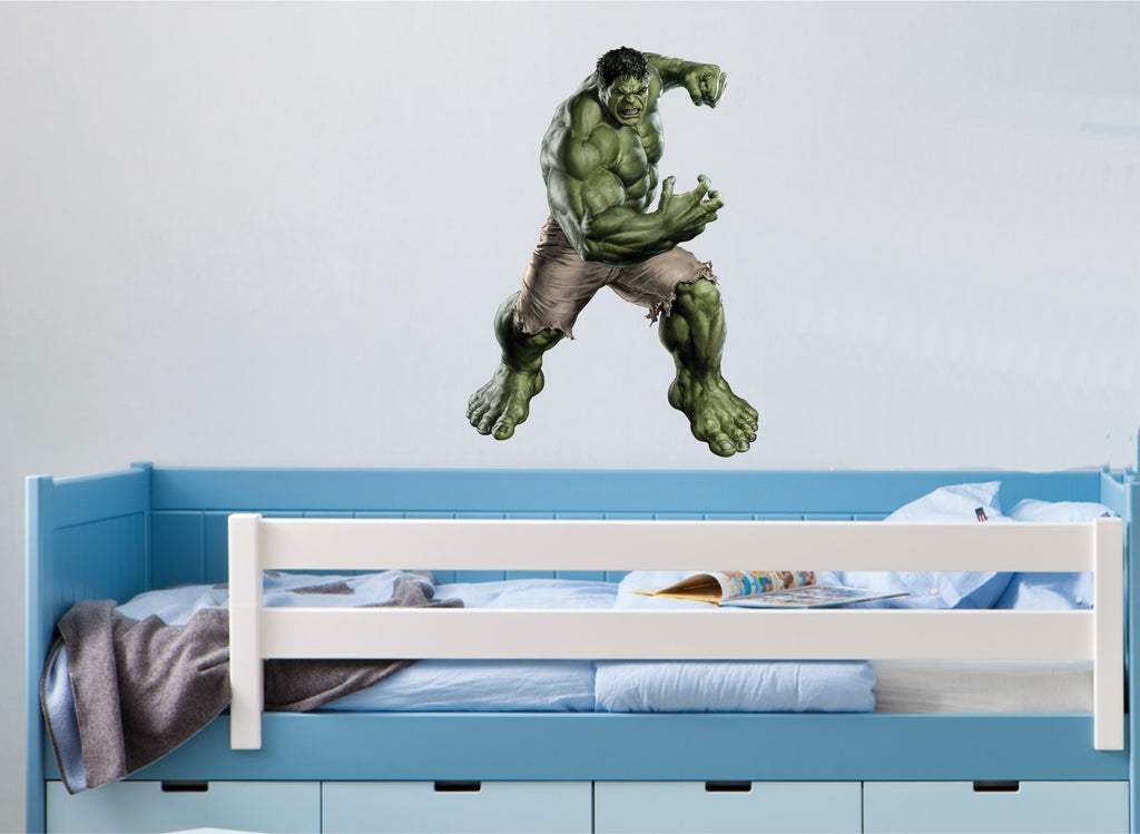 HULK in colour wall art sticker