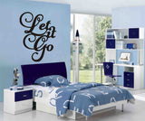 Let It Go Wall Art Sticker
