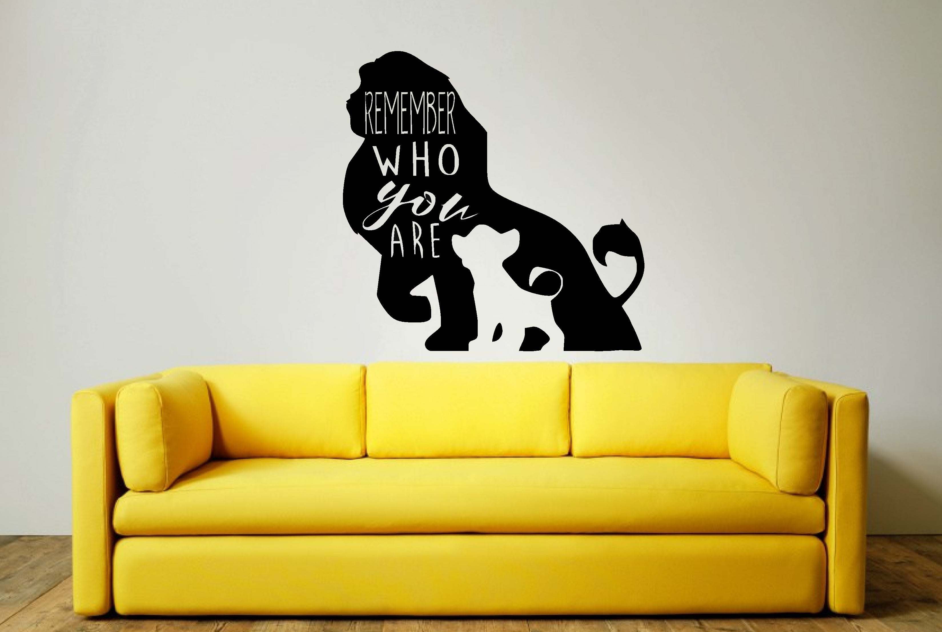 LION KING WALL ART STICKER \
