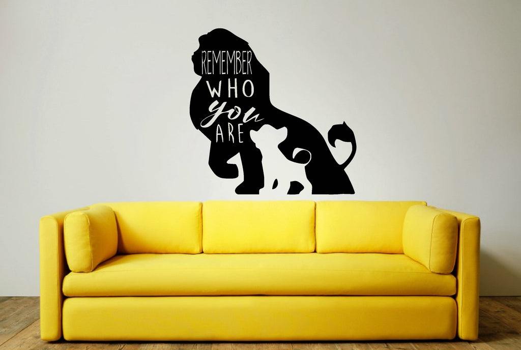 Lion King Wall Art Sticker