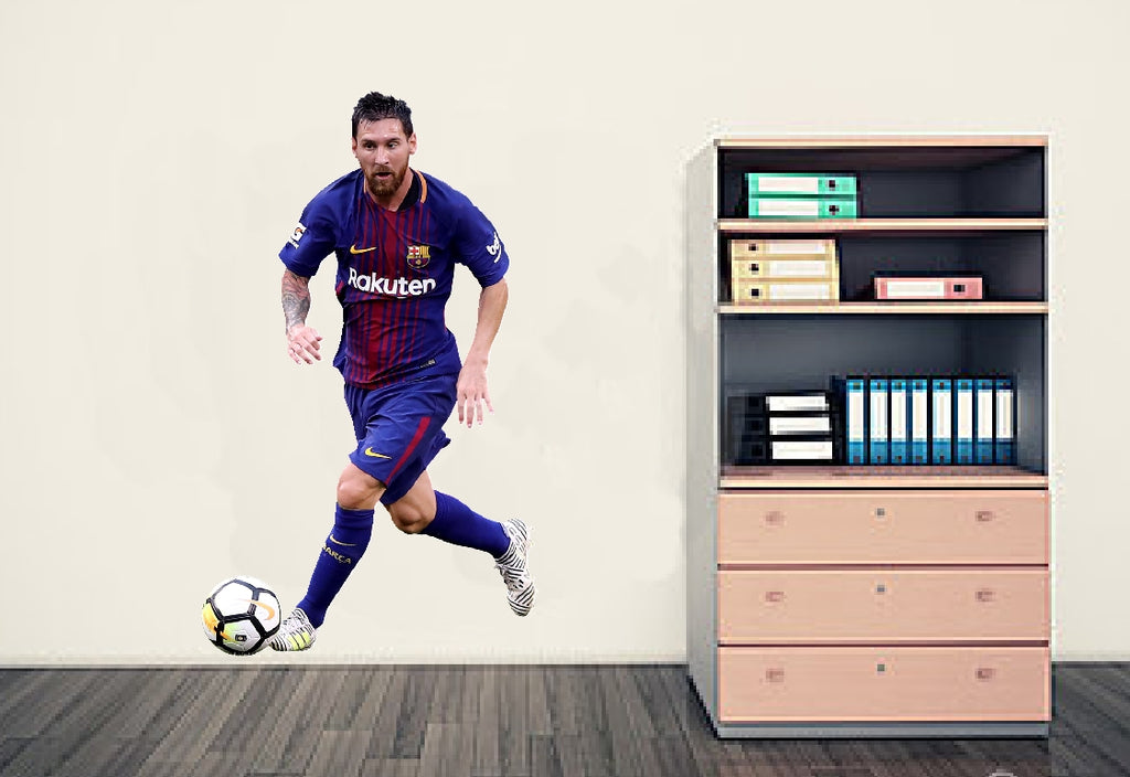 Lionel Messi Wall Art Sticker - Full Colour
