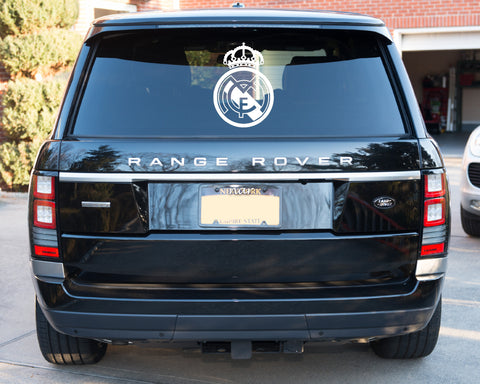 Real Madrid Badge Car Sticker (25 x 35cms)
