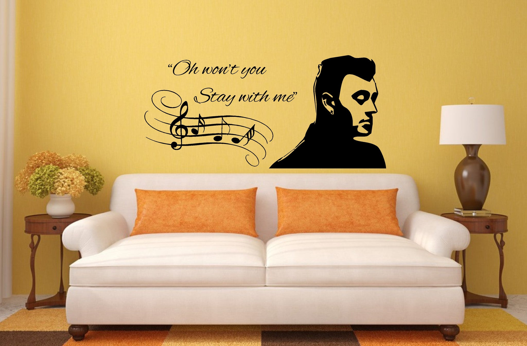 Sam Smith Wall Art Sticker, great decal for any room – Wall Art Shop