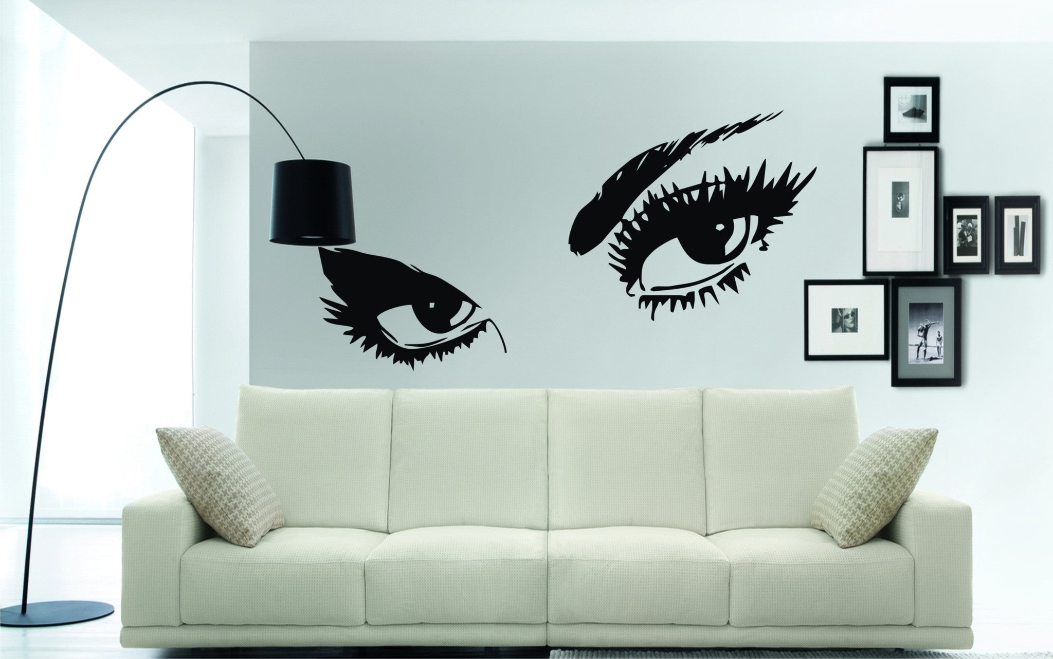 Sexy Eyes Wall Art Stickers A Great Home Decor Decal Wall Art Shop