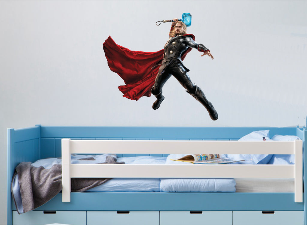 Thor wall sticker in colour