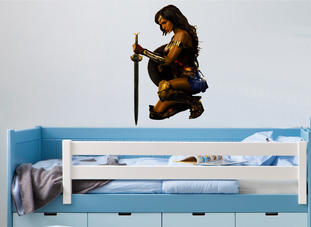 Wonder Woman (Full Colour Wall Sticker)