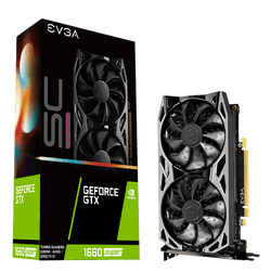 EVGA GeForce GTX 1660 SUPER SC ULTRA GAMING Dual Fan
