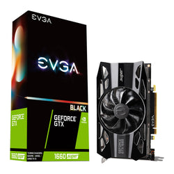 EVGA GeForce GTX 1660 SUPER BLACK GAMING graphics card limited stock -SPO