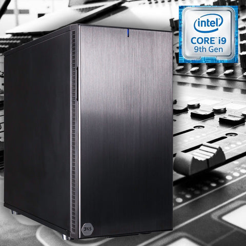 "3XS FA7i Audio Workstation, Intel Core i7 9700K ""Coffee Lake"", 16GB DDR4, 500GB SSD, 1TB, Win 10"