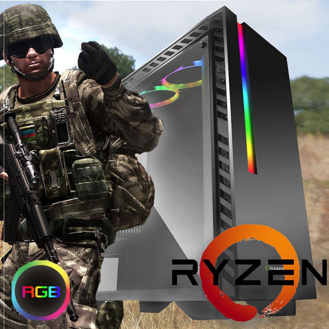 NEW!! Ryzen 7 2700x 16GB 32GB 8 Core Gaming PC with SSD RTX 2080