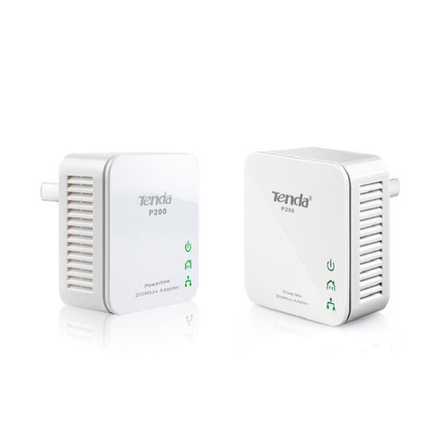 Tenda - P200 200mbps Mini Powerline Twin Pack