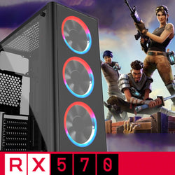 WINTER DEAL 5RX - INTEL i5 9400F 16GB 1TB 240 SSD Gaming PC RX 570 TOWER AC275