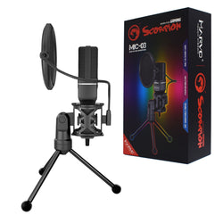 MARVO SCORPION Deskstop USB Professional Omnidirectional Microphone  MIC-03