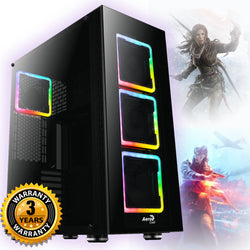 NEW!!! Aerocool Tor Plus Core i5 i7 Nvidia GTX 1660 RTX 2060 2070 Gaming PC SPO AC174