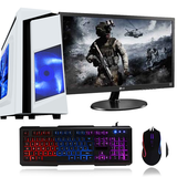 "NEW!! Intel Core i5 8GB GTX 1060 Gaming PC setup with 22"" Screen 3yr warranty"
