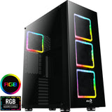 Computer Case Aerocool Tor Pro Full Tower Square RGB Fans