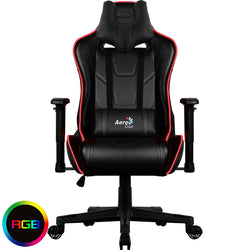 GAMING CHAIR AEROCOOL AC220 AIR RGB - ITEM SHIPPED DIRECT BY COURIER