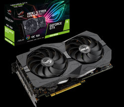 ASUS NVIDIA GeForce GTX 1660 SUPER 6GB ROG Strix OC Turing Graphics Card