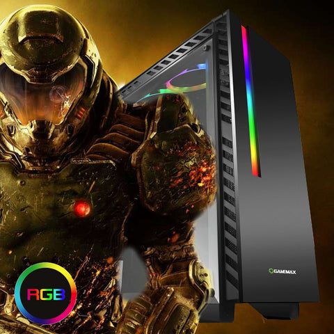 NEW!! Chroma Intel Core i5 4440 Gaming PC GTX 1050 or 1060 Graphics SPO