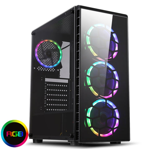 NEW!!! Raider Gaming PC Computer Core i5 RGB SSD HDD 16GB GT 1030 GTX 1650 1660