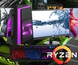 NEW!! RYZEN 5 2600 Full Gaming PC System GTX 1650 or 1050 with HD Screen