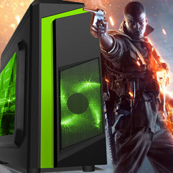 NEW!!! FORTNITE STEAM GAMING PC - connects to TV or monitor GTX 1050 8GB SPO