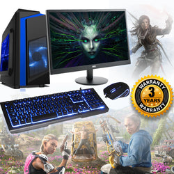 NEW!! GTX 1060 16GB Core i5 Full Setup Gaming PC 3 yr warranty AC153