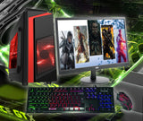 "Full Gaming PC Package Core i5 8GB 22"" Screen SSD Options GTX 1650"