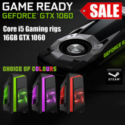 NEW!! Core i5 16GB GTX 1060 Gaming PC Internally Refurbished - 3yr warranty SPO