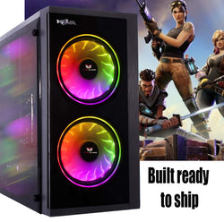 NEW!!! FORTNITE STEAM GAMING PC - 8GB connects to TV or monitor GTX 1050Ti or 1650