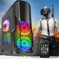 NEW!! Intel Core i5  RGB Case GTX 1060 Graphics 1TB 8GB or 16GB Gaming PC