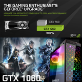 Polaris i5 GTX 1060 Core i5 Gaming PC Tempered Glass (Limited edition) SPO