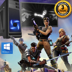 "NEW!!! Gaming PC Full Setup Deal & 22"" Screen - 3yr warranty ideal for kids"