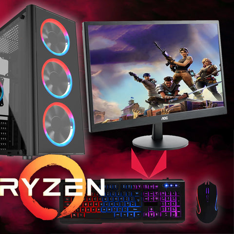 Winter Deal Ryzen Gaming PC GTX 1650 SSD & HDD AC152
