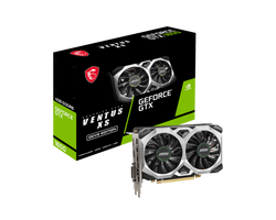 MSI GEFORCE GTX 1650 D6 VENTUS XS OCV2 GRAPHICS CARD