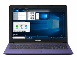 "EX DISPLAY Purple ASUS X502CA 15.6"" 4GB 500GB Windows 10 Laptop"