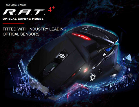 MAD CATZ R.A.T. 4+ Gaming Mouse