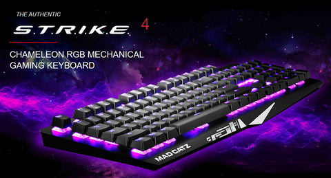 MAD CATZ S.T.R.I.K.E. 4 RGB mechanical Keyboard