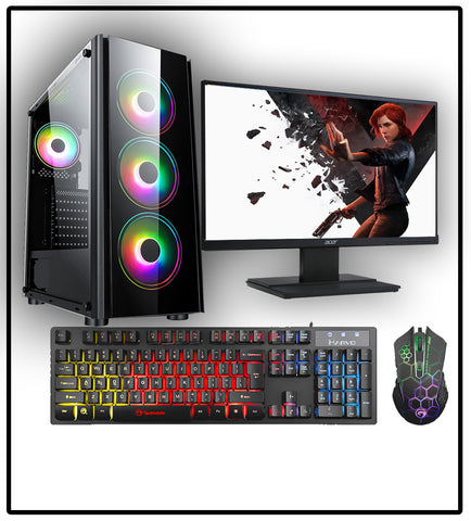 WINTER DEAL 4 - AMD RYZEN 3100 16GB Gaming PC GTX 1650 FULL PACKAGE AC253
