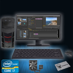 Lumen - Exteme Level Video Editing System - Intel Skylake Core i7 6700k with 16GB Memory and GTX 1050 or 1060 Graphics