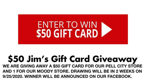 September Gift Card Giveaway