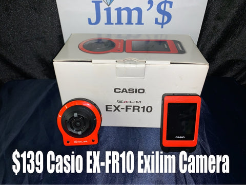 Casio EX-FR10 High Speed Digital Camera