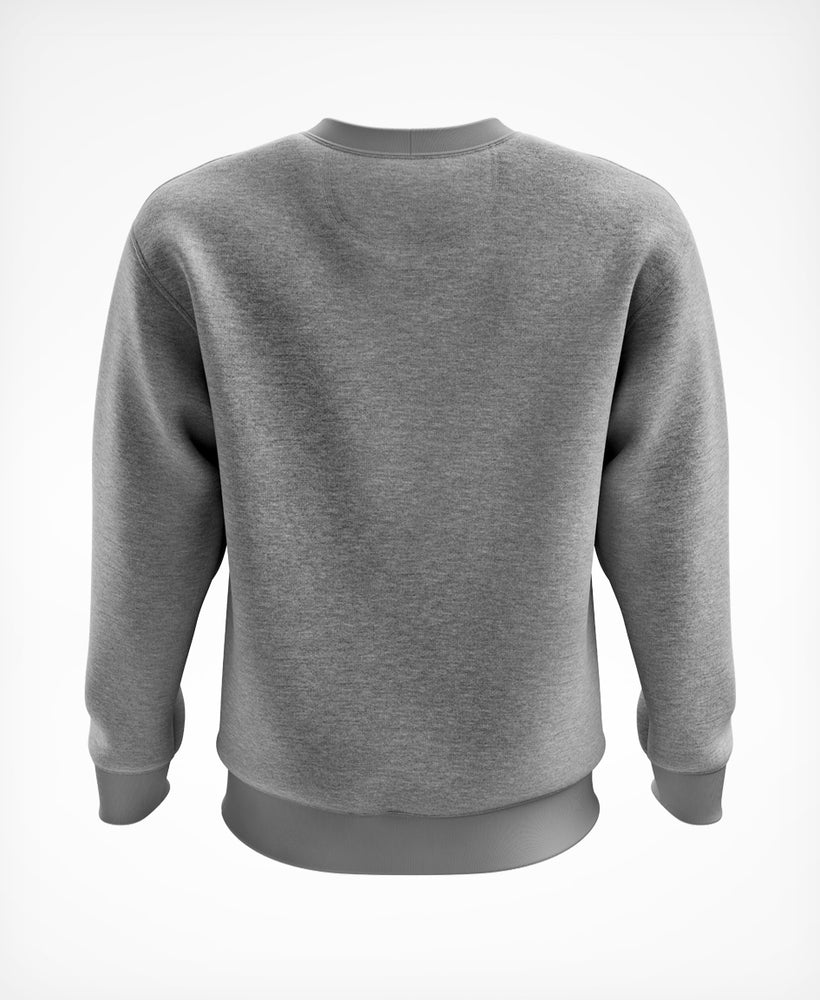 Sweat gris statement blanc - HUUB