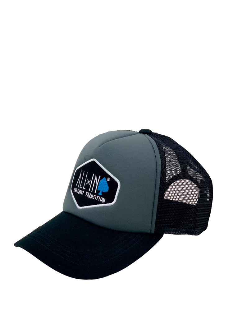 Casquette trucker charcoal - ALL IN